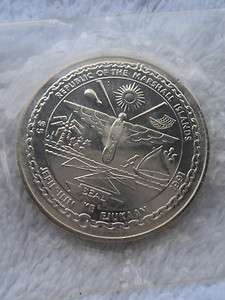 Marshall Islands 5$ Silver Coin Heroes of Desert Storm Uncirculated