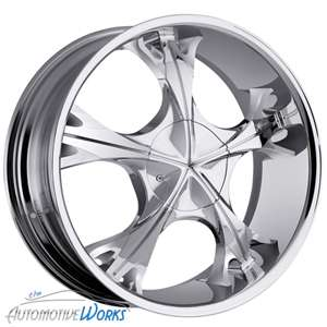 17 Milanni Chrome Wheel Rims Inch Jeep Wrangler Ranger