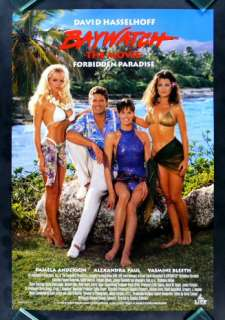 BAYWATCH * CineMasterpieces FORBIDDEN PARADISE PAMELA ANDERSON MOVIE