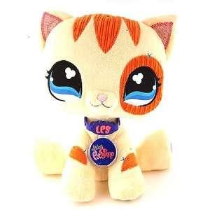 Littlest Pet Shop   NEW   Plüsch VIP GELBE KATZE   mit ONLINE CODE