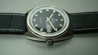 VINTAGE OMEGA SEAMASTER AUTOMATIC CHRONOMETER DAY DATE MENS WATCH USED