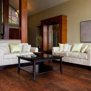 Hand Scraped LaHoya Acacia Hardwood Flooring Wood Floor