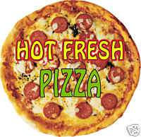 Pizza Pie Slice Italian Concession Fast Food Decal 9
