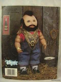 vtg 1984 mr t soft sculpture doll pattern fabric fs description free