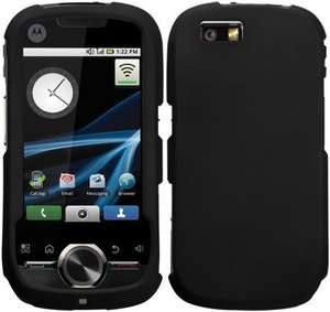 SPRINT BOOST MOBILE MOTOROLA i1 OPUS HIGH QUALITY BLACK SILICONE SKIN