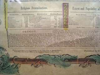 ANTIQUE MAP BROADSIDE 1776 1845 US at ONE VIEW PHELPS