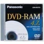 PANASONIC LM HB47LU REWRITABLE SINGLE SIDED DVD RAM NEW