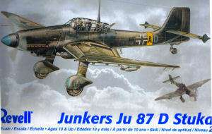JUNKERS JU 87 D STUKA 1/48 REVELL MODEL KIT 855250