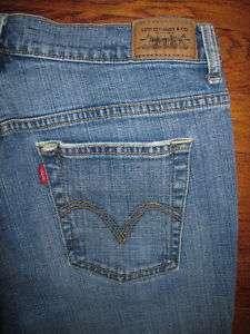 Womens LEVIS Jeans 515 BOOT CUT Size 10M #502