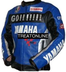 Motorrad Leder Jacke Lederjacke YAMAHA M   XXL NEU