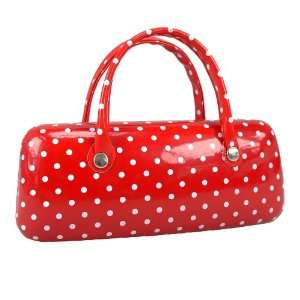 Juicy Lucy Brillenetui mit Henkeln DOTTED red/white: .de: Sport