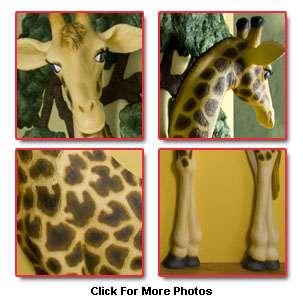 BEETLING 6 GIRAFFE Baby Nursery Room 3D Wall Decor Art