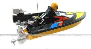 14cm Radio Remote Control RC Mini Racing Speed Boat