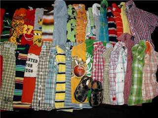 BABY TODDLER BOY SPRING SUMMER CLOTHES 3T 4T YEARS LOT OUTFITS