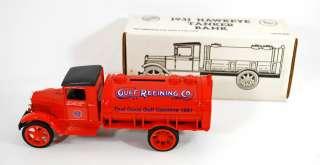 Collectible   1931 Hawkeye Tanker Truck Bank   ERTL 1990   Made in USA