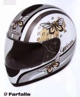 Farfalle Ladies Helmet Held Chopper/Motorcycle/Trikes