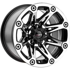 Ballistic Flash 15x8.5 Machined Black Wheel / Rim 5x4.5 with a  27mm