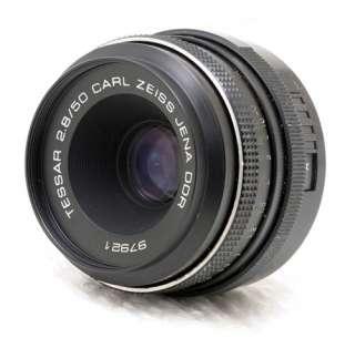 CARL ZEISS JENA DDR MC TESSAR 50mm f/2.8