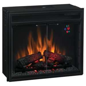 Classic Flame 23 Electric Fireplace Insert Box Flame Effect Doors