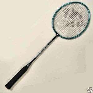 Badminton racket, Carlton maxi blade ISO 4.3