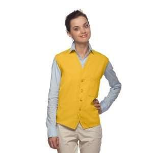 DayStar 740 One Pocket Uniform Vest Apron   Yellow