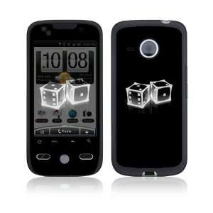 Crystal Dice Protective Skin Cover Decal Sticker for HTC