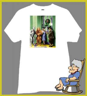 WIZARD OF OZ T SHIRT DOROTHY AT THE EMERALD CITY GATE