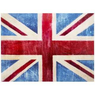 Blue Union Jack Wall Art, 000422