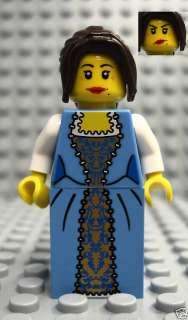NEW Lego pirates FEMALE MINIFIG girl woman dress 10210