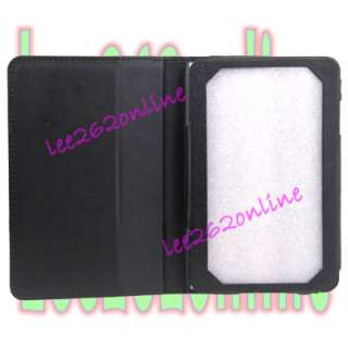 Leather Case Cover for Lenovo 7 Lepad A1 Tab Tablet Black