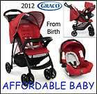 NEW 2012 GRACO MIRAGE T System FROM BIRTH PUSHCHAIR & BABY CAR SEAT