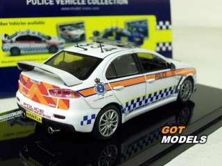 MITSUBISHI LANCER EVO X 1/43 GB ROAD CRIME UNIT POLICE
