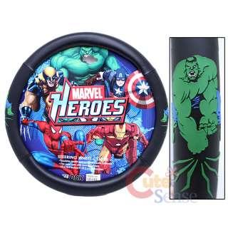 Marvel Heroes Hulk Steering Wheel Cover Car Accessory