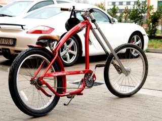 Bicicletta Nirve Custom Beach Cruiser Bici Harley Davidson Chopper