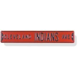 Authentic Street Signs Cleveland Indians Street Sign