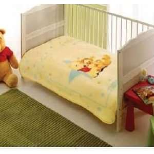 DISNEY POOH BABY Girls Boys Blanket: Home & Kitchen