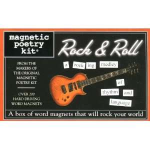 Rock & Roll (Magnetic Poetry) (9781928576778) Magnetic Poetry Books