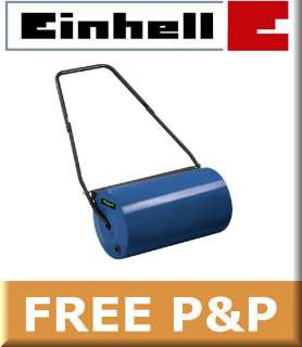 Einhell 46 Litre Water Filled Steel Garden Roller For Lawn/Grass/Seed