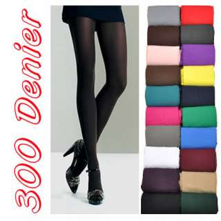 80 Denier Beige Colour Opaque Tights Pantyhose Stockings C9c