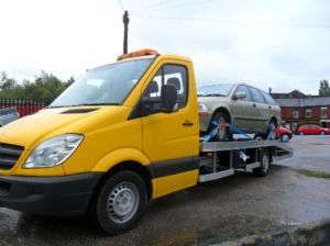 MERCEDES SPRINTER RECOVERY TRUCK 3.5T 2008 16 FT ALI BACK