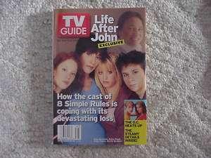 TV Guide John Ritter Katey Sagal Kaley Cuoco Amy Davidson Martin