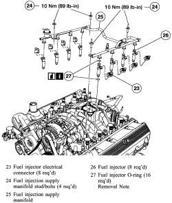 Systems  Fuel Rail (supply Manifold) & Injectors  AutoZone