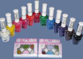 Set 7 Pinceles para decorar uñas Nail Art Brushes