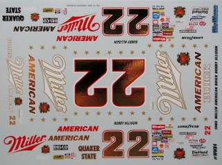 22 Bobby Allison 1985 Miller American Buick Regal