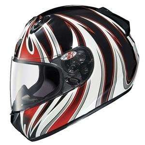 Joe Rocket RKT 101 Deviant Helmet   Medium/Black/Red/White