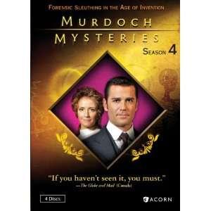 Murdoch Mysteries Season 4 Yannick Bisson, Jonny Harris