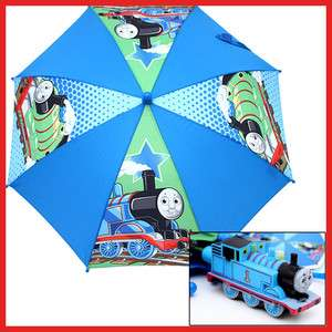 Thomas Tank Engine & Percy Umbrella  Figure HandleBlue