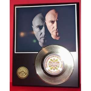Phil Collins 24kt Gold Record LTD Edition Display ***FREE PRIORITY