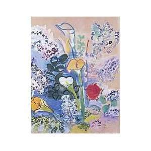 Raoul Dufy   Le Bouquet dArums Canvas: Home & Kitchen