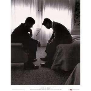 John Kennedy Robert Kennedy Hank Walker President Print